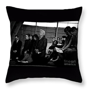 Faithful Fatherhood Throw Pillow