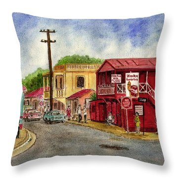 Fajardo Puerto Rico Throw Pillow