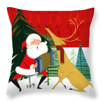 Falalalalah Throw Pillow