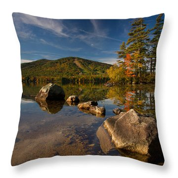Fall At The Mountain Throw Pillow