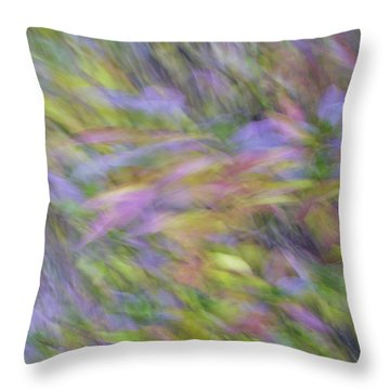 Autumn Azaleas 1 Throw Pillow
