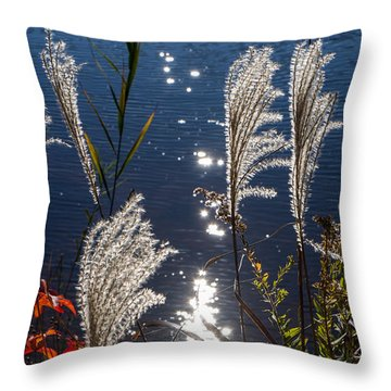 Fall Bouquet Throw Pillow