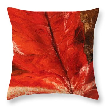 Fall Calmness Throw Pillow