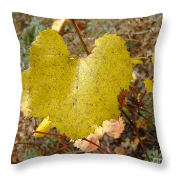 Fall Colors 6302 Throw Pillow