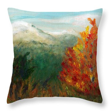 Fall Day Too Throw Pillow