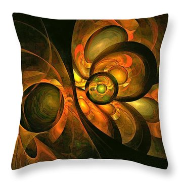 Fall Equinox Throw Pillow
