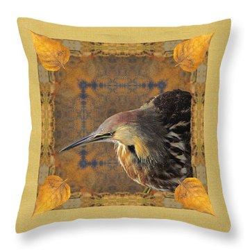 Throw Pillow featuring the photograph Fall Equinox Mandala Wa by I'ina Van Lawick