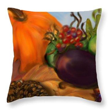 Fall Festival Throw Pillow
