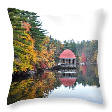 Coggshall Park, Fitchburg Ma Throw Pillow