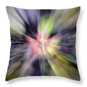 Autumn Foliage I Throw Pillow