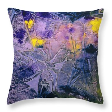 Fall Frost Dancing Throw Pillow