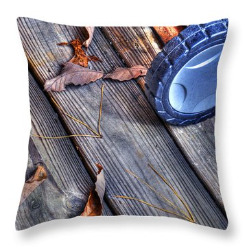 Throw Pillow featuring the photograph Fall In Maggie Valley by Craig T Burgwardt