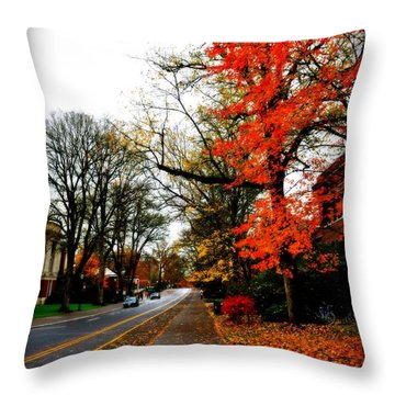 Fall In The Northwest Throw Pillow