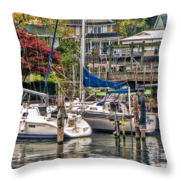Fall Memory Throw Pillow