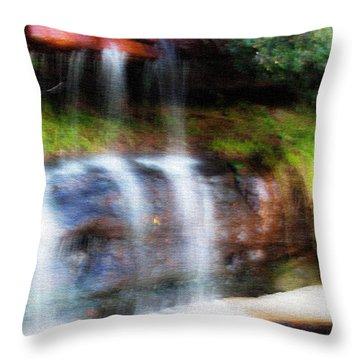 Throw Pillow featuring the photograph Fall by Miroslava Jurcik