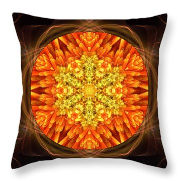 Fall Nature Spirit Throw Pillow