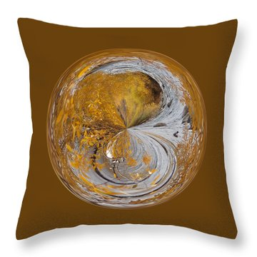 Fall Orb Throw Pillow