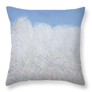Fall Plumes Throw Pillow