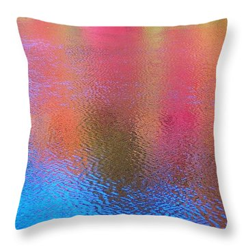 Fall Reflections In South Throw Pillow