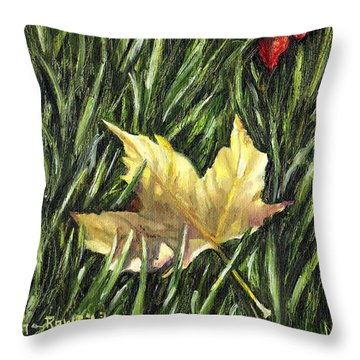 Fallen From Grace Throw Pillow by Shana Rowe Jackson