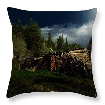 Fallen In Throw Pillow