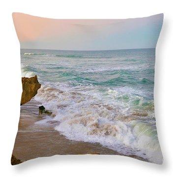 Falling In Love Throw Pillow by Olga Hamilton