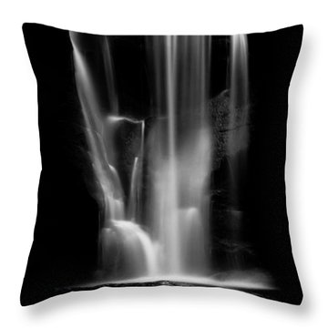 Falling Light Throw Pillow by Shane Holsclaw