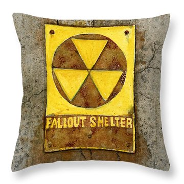 Fallout Shelter #1 Throw Pillow