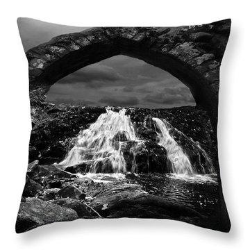 Falls Throw Pillow by Jack Zulli
