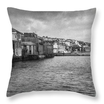 Falmouth Waterfront Throw Pillow
