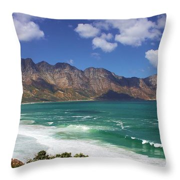 False Bay Drive Throw Pillow