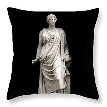 Throw Pillow featuring the photograph Fame by Fabrizio Troiani