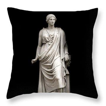 Fame Throw Pillow by Fabrizio Troiani