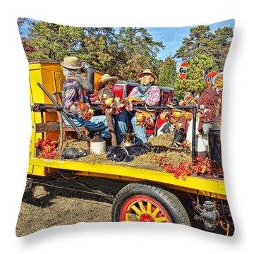 Family Fun Throw Pillow