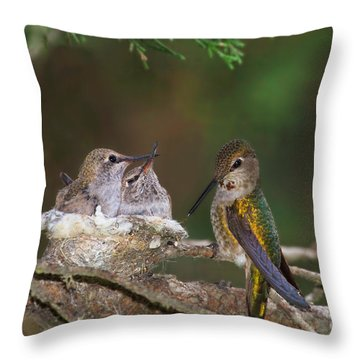 Family Love Throw Pillow