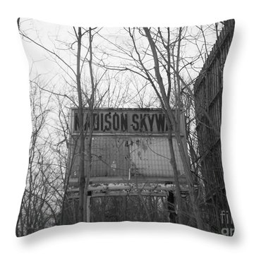 Throw Pillow featuring the photograph Family Night  by Michael Krek