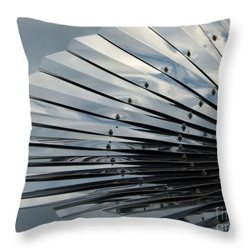Fan In The Sky Throw Pillow