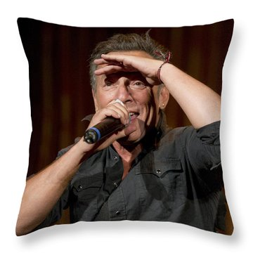 Fan Scan Throw Pillow