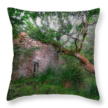 Fanciful Forest Throw Pillow by Kandy Hurley