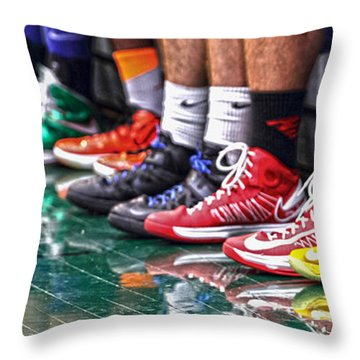 Fancy Fetish Throw Pillow by Alan Look
