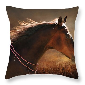 Fancy Free Throw Pillow by Michelle Twohig