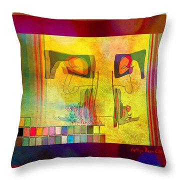 Fantasia Chroma Throw Pillow