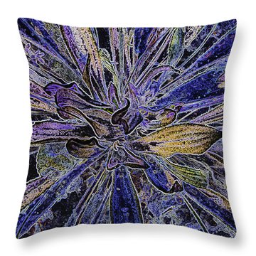 Fantasy 2 Throw Pillow by Sherri Meyer