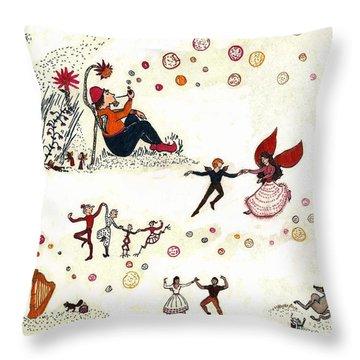 Fantasy - Age 14 Throw Pillow