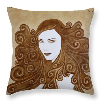 Fantasy I Throw Pillow by Lynet McDonald