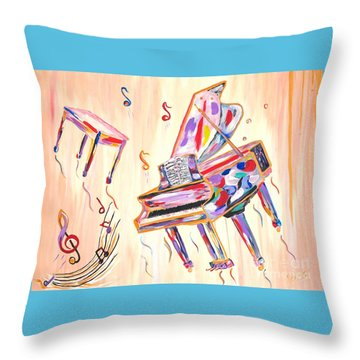 Fantasy Impromptu Throw Pillow