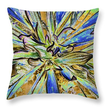 Throw Pillow featuring the photograph Fantasy by Sherri Meyer