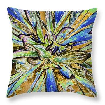 Fantasy Throw Pillow by Sherri Meyer