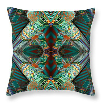 fantasy surreal photography - Beam Me Up V Throw Pillow