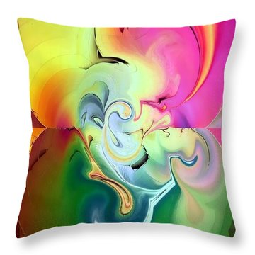Fantasya By Nico Bielow Throw Pillow